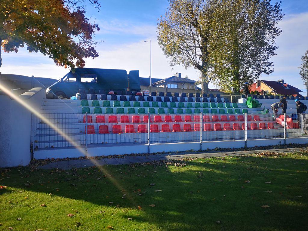 Ilustracja do informacji: Zmiany na stadionie